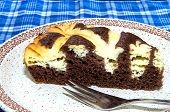 Cocoa Cake With Cream Cheese