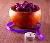 Pot Pourri And Candle