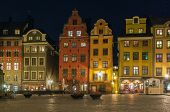 Stortorget In Evening, Stockholm