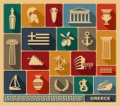 Greece icons