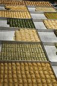 Turkish Baklava In A Shop