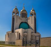image of kiev  - Cathedral of the Resurrection of Christ or the Kiev Orthodox Cathedral of Christ - JPG
