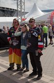 The ice hockey German fans