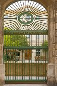 Entrance Gate To National School Of Photography In Arles, France.