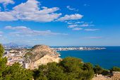 Alicante San Juan beach view