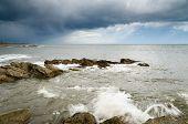 Storm Over Newbiggin By The Sea