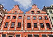 Roesner House (1712) In Torun Town, Poland
