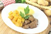Venison Goulash With Rutabaga And Parsley