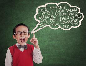 foto of schoolboys  - Education concept - JPG
