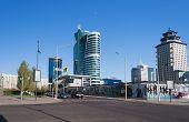 Modern Buildings In Astana. Kazakhsatan
