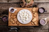 Homemade Hot Chocolate, Homemade Butter Cookies