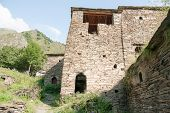 Shatili Town Castle