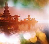 Pura Ulun Danu temple, Bali, Indonesia