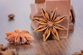 Milk chocolate and anise