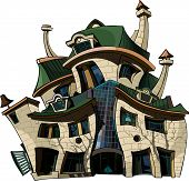 Cartoon House Curve.eps