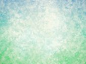 Blue Green White Abstract Vintage Background