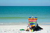 Bright Colored Beach Chair