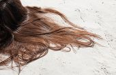 Brown Hair Of A Woman
