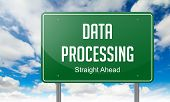 Data Processing on Highway Signpost.