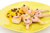 Fish Cream In Pastries