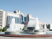Tashkent Fountains In Yunusabad 2007