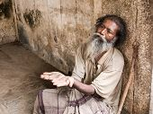 Old Indian Beggar