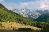 mountain range in Kelmend municipality, Albania