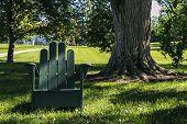 Green chair green life