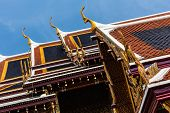 Thai Temple Roofs