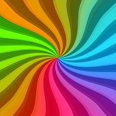 Colorful Twisted Rays