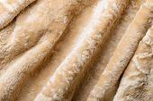 Folds In A Sheepskin Jacket