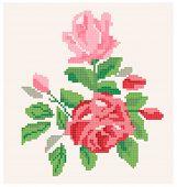 Roses Pattern