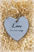 Live, Love And Laugh Heart