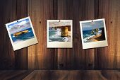 picture of 12 apostles  - instant photos with 12 apostles on the wall - JPG