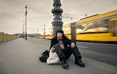 picture of tramp  - On the streets  - JPG