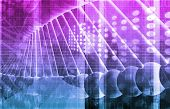 stock photo of genetic engineering  - Medical Genetics or Genetic DNA Abstract Image - JPG