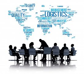 pic of production  - Logistics Management Freight Service Production Concept - JPG