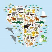 stock photo of hippopotamus  - Animal Africa - JPG