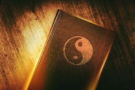 stock photo of taoism  - Taoism Book of Harmony - JPG