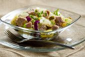 potato salad with tuna fish