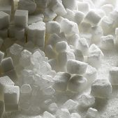 image of white sugar  - sugar still life - JPG