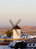 windmill, Campo de Criptana, Castile-La Mancha, Spain