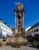 picture of banska  - baroque column of Saint Trinity - JPG