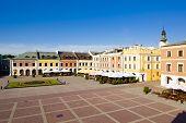 Main Square (Rynek Wielki), Zamosc, Poland
