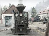 steam locomotive, Ciernohronska Railway, Slovakia