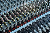 Professional Mixing Console