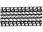 Tire track