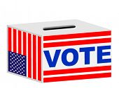 VOTE box illustration