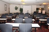 stock photo of training room  - Main conference room used for presentations and schooling - JPG