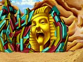 Egyptian Graffiti